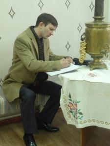 А. В. Алмазов - художник (г. Москва). 21 октября 2015 г.