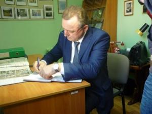 Е. Б. Шулепов - Глава города Вологды. 20 октября 2015 г.