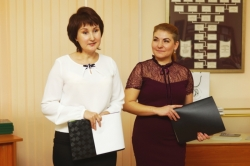 Надежда Кузнецова и Оксана Красовская - ведущие праздника