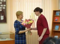 Юлия Корнякова (племянница В.И. Белова) и Марина Гогова (руководитель Центра писателя В. И. Белова)