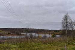 Сохотское озеро близ кладбища