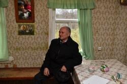 Посещение дома писателя. В.П. Киселев