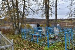 Кладбище, где похоронен В.И. Белов